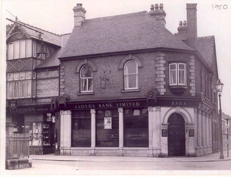 Lloyds Bank, 90a Mill Road, 1950.
