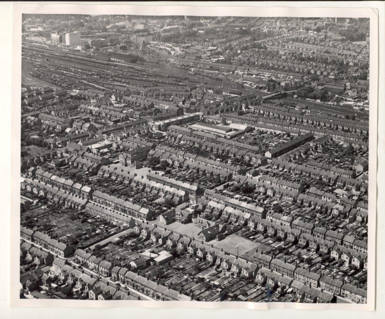 Romsey aerial view