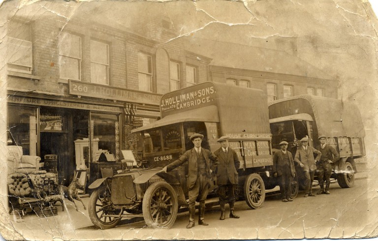 Holliman family business. c1928.