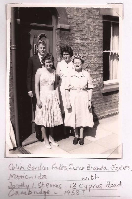 18 Cyprus Road, c.1958