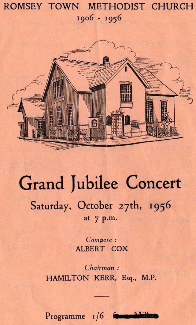 Front cover of Jubilee Programme