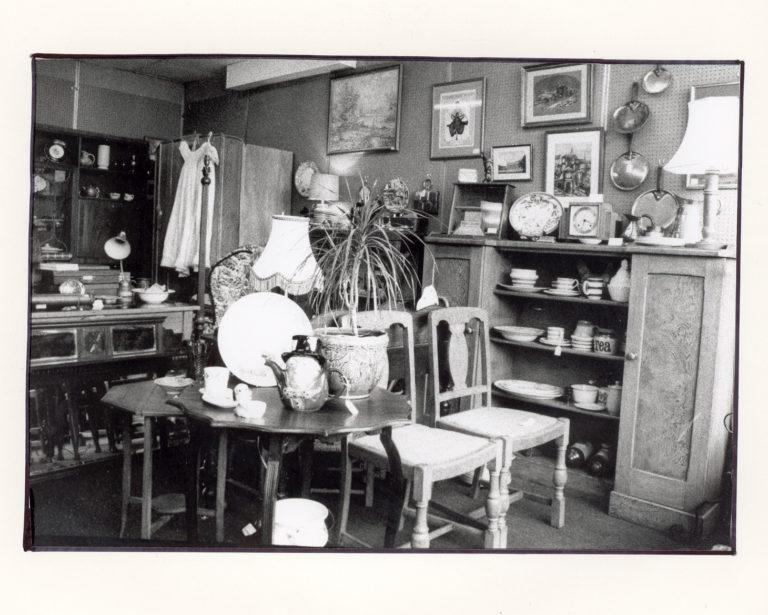 Gwydir Street shops interiors